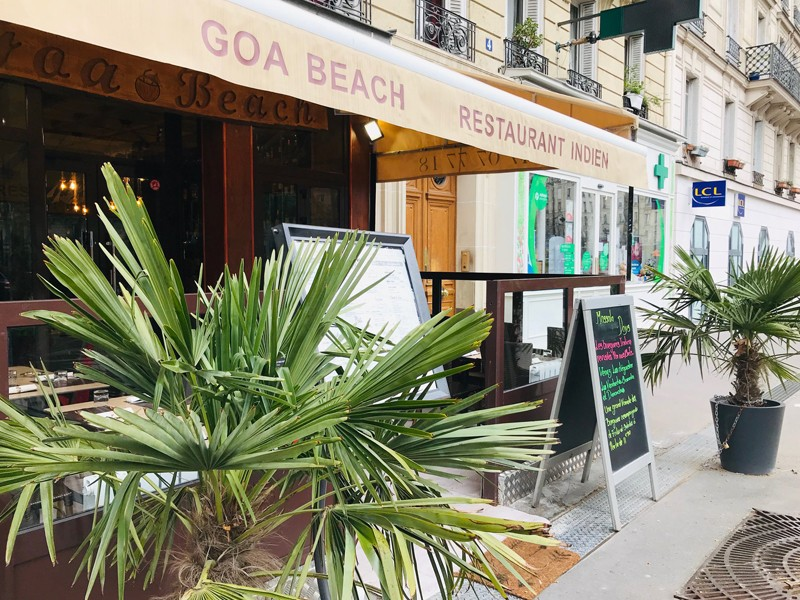Goa beach Paris 5