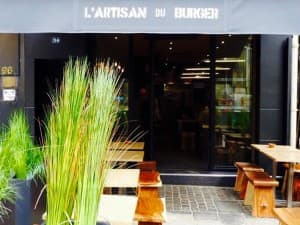 L'artisan du Burger Paris 1