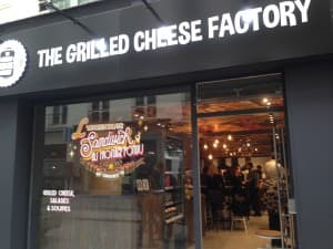 The Grilled Cheese Factory  Paris 2
