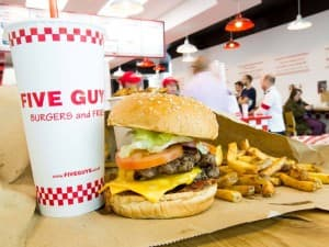 Five Guys Bercy Village Paris 12