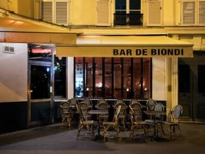 Le bar de Biondi Paris 11
