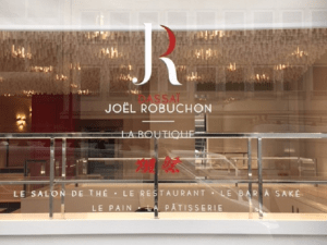 Joël Robuchon - Dassai La Boutique.   Paris 8